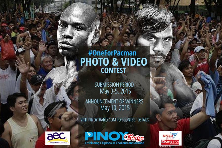 pinoy-thaiyo pacquaio vs mayweather contest2