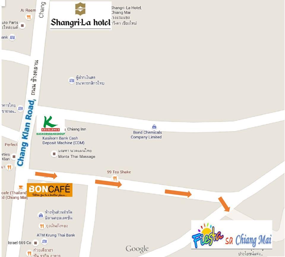 fiesta sa chiang mai map