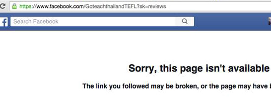 goteachthailand review not available