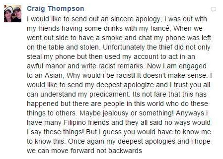 pinoy thaiyo craig thompson side of the story