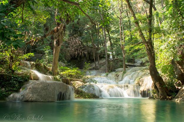 pinoy thaiyo erawan waterfall Dong Prouck Sa alex salde