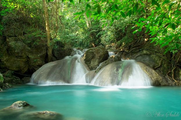 pinoy thaiyo erawan waterfall Oke Nank Phee Seah alex salde