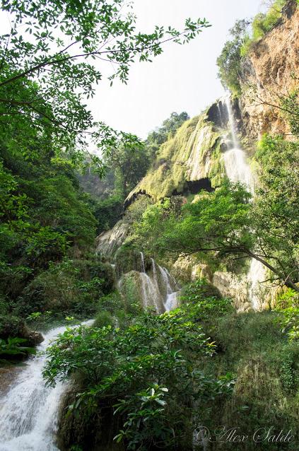 pinoy thaiyo erawan waterfall Phu Pha Erawan alex salde
