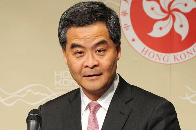 Leung Chun-ying Hong Kong