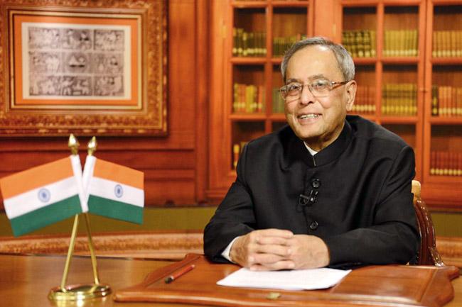 Pranab Mukherjee - India