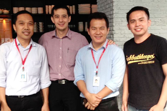 CIMB officials with some Filipino reps2