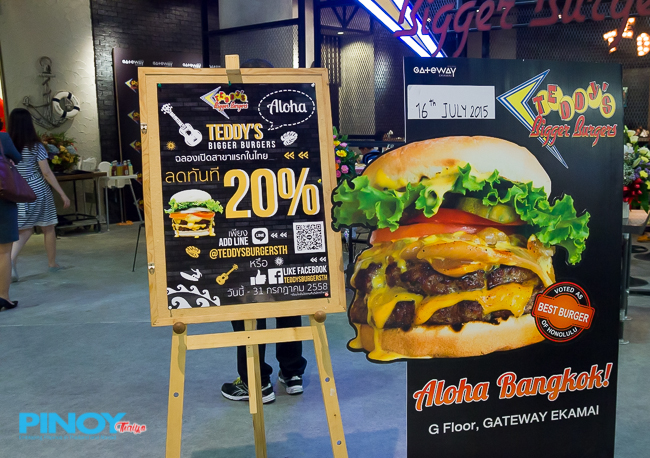 Teddy's Bigger Burgers in Bangkok