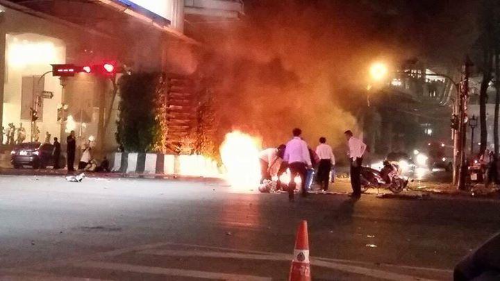 bangkok blast photo by Thairath post