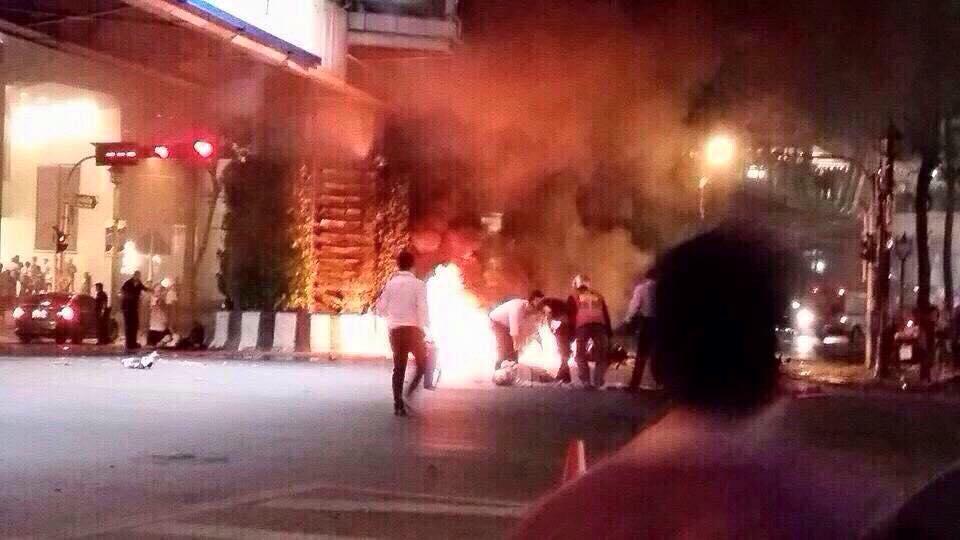 bangkok blast photo by andrew liddell