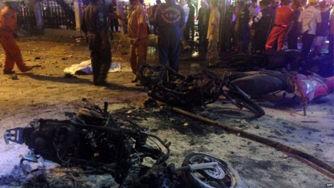 bangkok blast photo by world asia