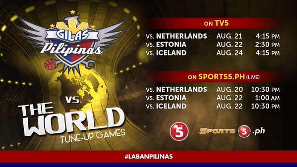 gilasvstheworld-schedule