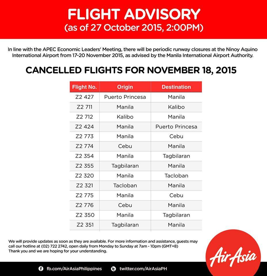 AirAsia cancelled flights APEC2015 18