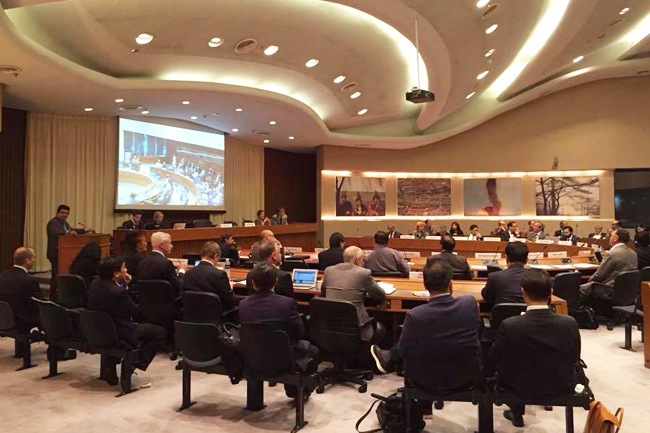 Filipino businessmen at Asia-Pacific Business Forum 2