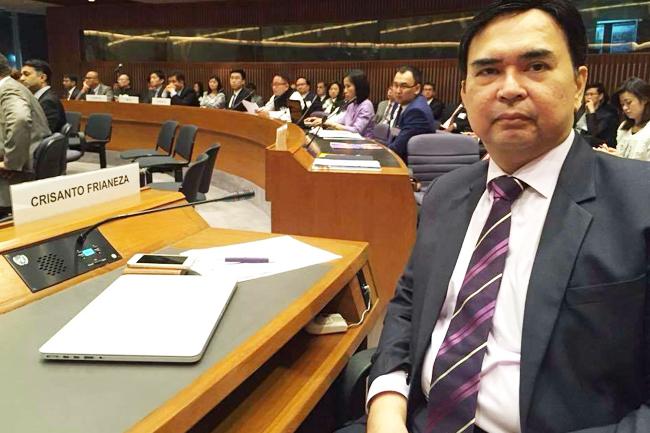Filipino businessmen at Asia-Pacific Business Forum
